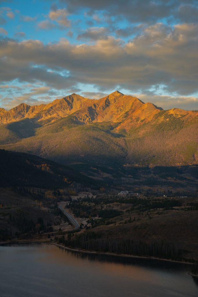 Sunrise on Gore Range 2